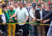 Em inauguração de ponte, Bolsonaro diz que decreto para impedir fechamento de vias já está pronto