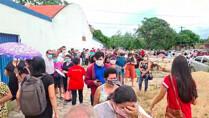 Vídeo: retomada de aplicação da segunda dose da CoronaVac tem aglomeração e tumulto em Porto Velho