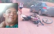 Motociclista morre em colisão frontal em Machadinho