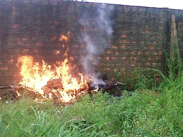 Campanha alerta sobre os riscos de queimadas em terrenos em Porto Velho
