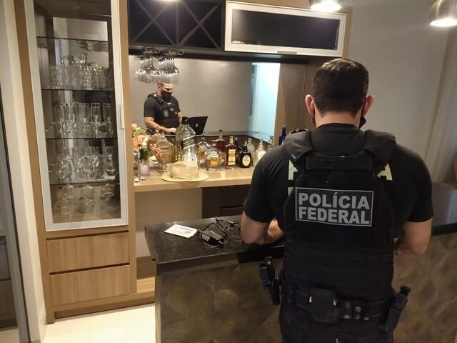 Operação da PF desarticula esquema criminoso de envio de carregamento de drogas de Rondônia para MG e MT