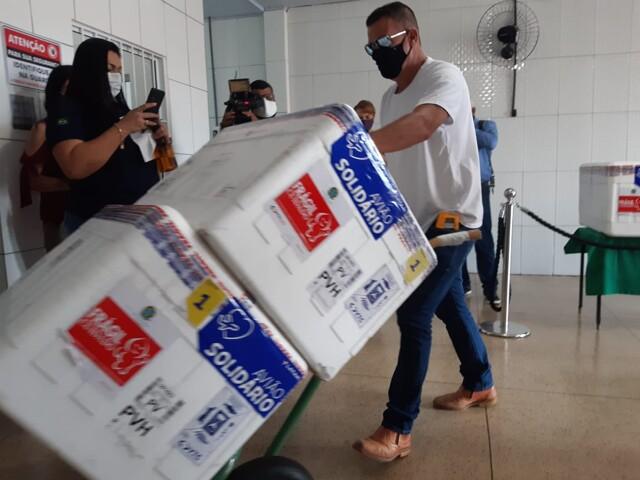 Rondônia já recebeu quase 700 mil doses de vacinas contra Covid-19
