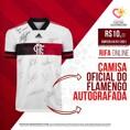 Associação beneficente realiza sorteio de camisa autografada pelo time do Flamengo para ajudar famílias em situação de vulnerabilidade