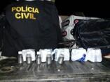 Denarc prende passageiro com 30 kg de mercúrio em ônibus