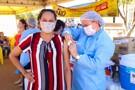 Machadinho sai na frente e garante vacinação de pessoas acima de 40 anos