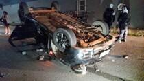 Passageiro morre em grave acidente na Capital; motorista teria avançado sinal vermelho