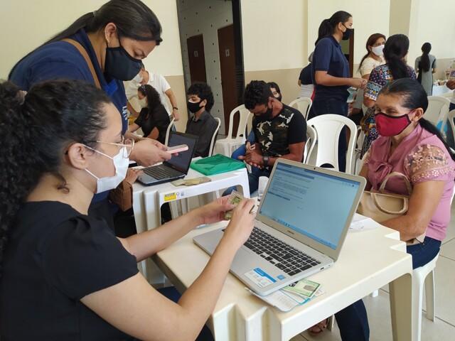 Deputado Alex Silva promove Ação de Cidadania para os moradores do bairro Aponiã