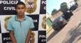 Polícia prende receptador dirigindo veículo roubado