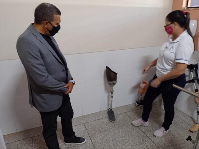 Deputado Alex Silva visita Hospital Santa Marcelina em Porto Velho