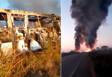 Vídeo: Colisão entre ônibus e caminhão-tanque deixa três mortes na BR-364