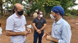 A pedido do deputado Ismael Crispin, secretário de saúde vai antecipar 2ª dose em São Miguel do Guaporé e Costa Marques