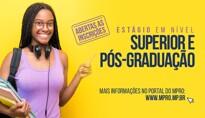 MP abre inscrições de processo seletivo de estágio em nível superior e de pós-graduação