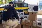 PRF e Receita fazem grande apreensão de videogames, controles e perfumes falsificados