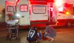 Motociclista fica ferida em acidente com automóvel na Zona Leste