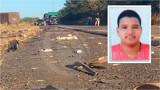 Grave acidente mata jovem na BR-364 em Vilhena; carro ficou partido ao meio
