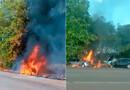 Vídeo: Mulher morre e outras três pessoas ficaram feridas em colisão frontal na BR-364