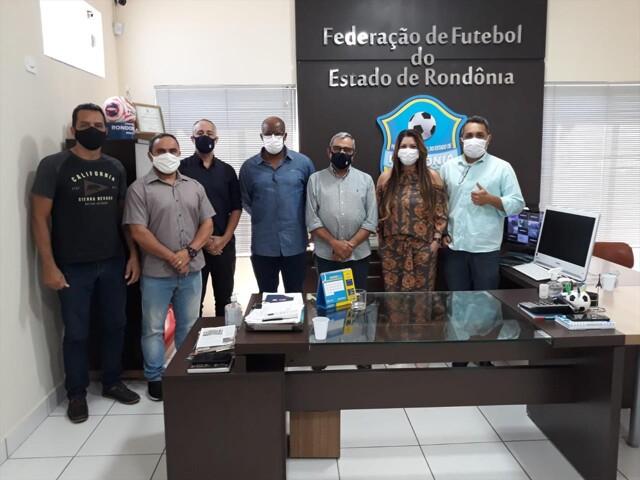 FFER, CBF e Prefeitura de Porto Velho se unem em prol do projeto Gol do Brasil