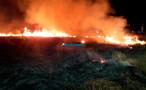 Vídeo: incêndio de grandes proporções atinge área próxima ao Cemetron