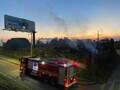 Mais um incêndio de grandes proporções é controlado pelos Bombeiros