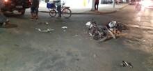 Motorista faz conversão proibida e causa grave acidente na zona sul