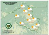 Domingo será de calor durante a tarde e temperaturas amenas na noite em Rondônia