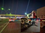 Motociclista fica gravemente ferido em acidente na BR-364