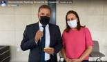 """Vídeo: Hildon contesta números do governo sobre estoque de vacinas e pede para secretário de Saúde """"falar a verdade"""""""