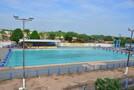 Piscina olímpica do parque aquático Vinicius Danin passa por reforma