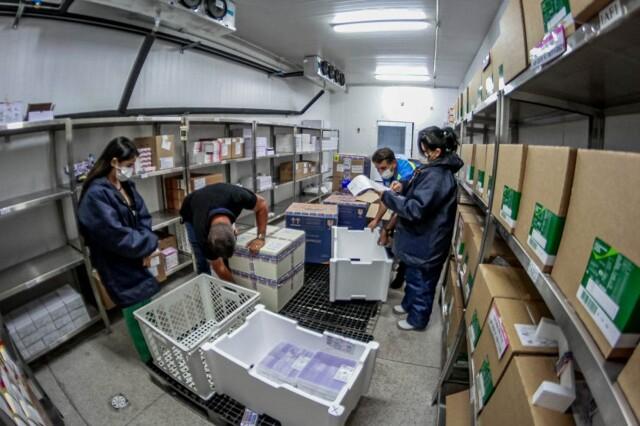 Rondônia recebe nova remessa com 50.310 doses de vacinas da Pfizer