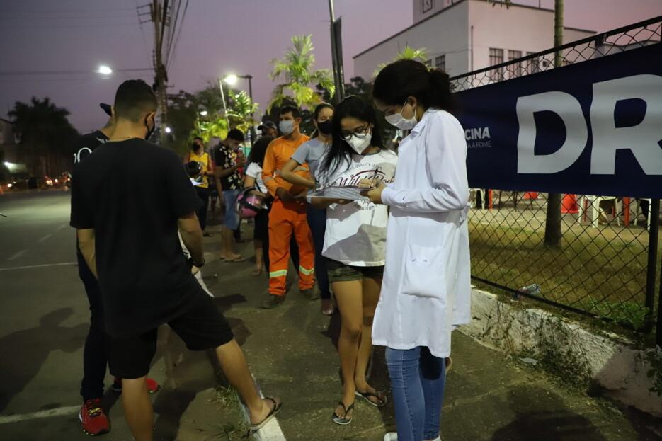 Porto Velho vacina mais de 10 mil pessoas contra Covid-19 entre sexta e sábado