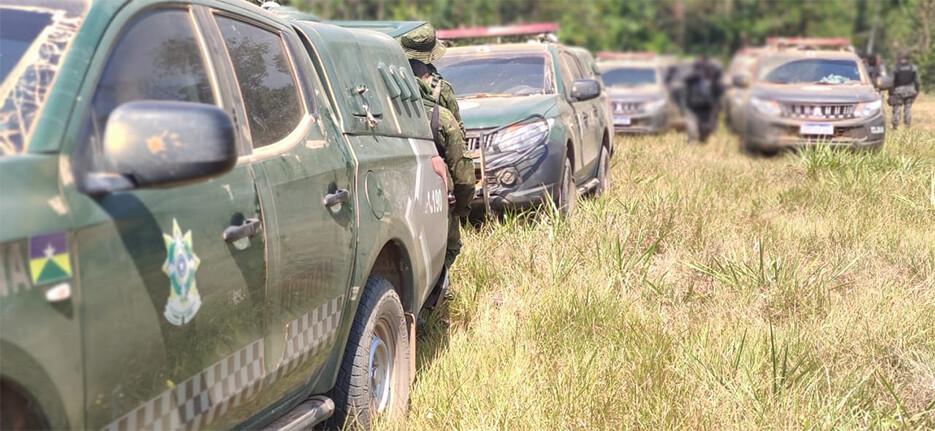 Mais cinco homens são presos em área da fazenda Santa Carmem, em Nova Mutum Paraná