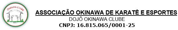 Associação Okinawa de Karate e Esportes - Edital de Convocação Assembleia Geral Ordinária