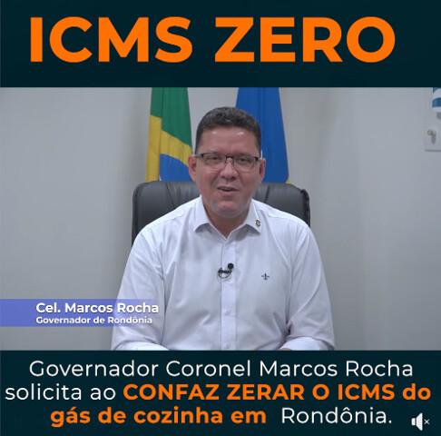 Governador pede autorização para zerar ICMS sobre o gás de cozinha
