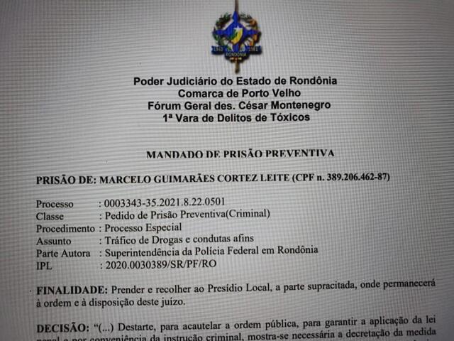Assessor de senador é preso por tráfico de drogas, e parlamentar determina exoneração