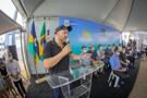 Presidente Alex Redano acompanha lançamento do Tchau Poeira em Ji-Paraná