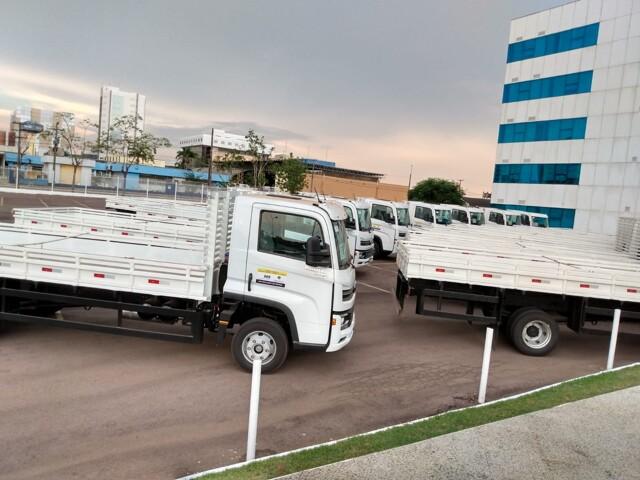 Mosquini garante 17 caminhões com emenda de R$ 2,9 milhões