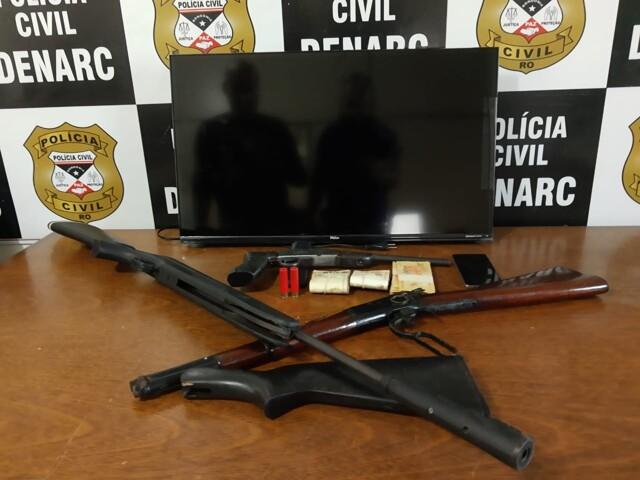 Cabeleireiro é preso com armas na zona sul de Porto Velho