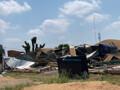 Galpão desaba com temporal em Porto Velho e dono estima prejuízo de R$ 1,5 milhão