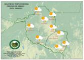 Final de semana será ensolarado e quente em todo o estado, diz Sipam