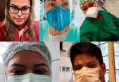 Tensão e incerteza: profissionais de saúde contam o dia a dia no auge da pandemia em Rondônia
