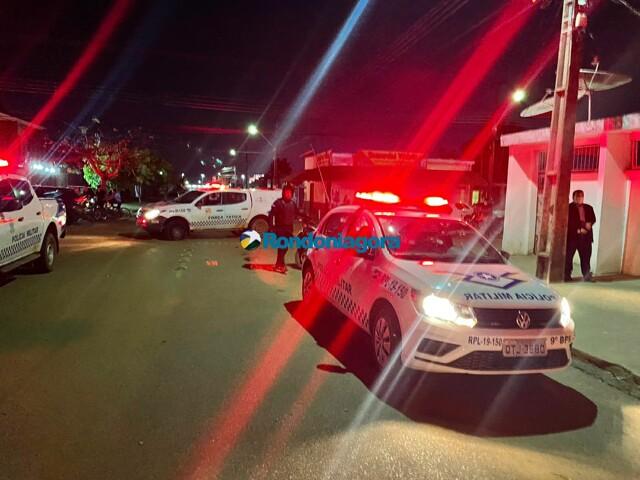 Intenso tiroteio no bairro Agenor de Carvalho