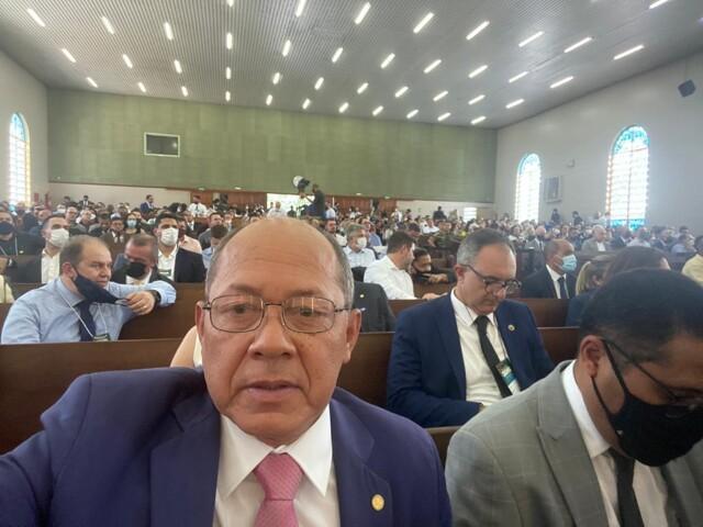 Coronel Chrisóstomo, Bolsonaro e ministros participaram da abertura do 1º Simpósio Cidadania Cristã