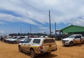 Grande operação de desocupação de fazendas tem prisões e ponte queimada em Nova Mutum