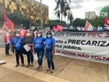 Sindeprof está em Brasíia na luta contra o desmonte do Serviço Público brasileiro