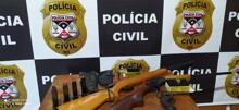 Quatro são presos durante cumprimento de mandados em São Domingos do Guaporé e São Francisco