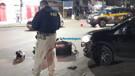 Motoboy é atingido por carro enquanto aguardava semáforo abrir