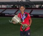 Ex-aluno do Talentos do Futuro é jogador do Atlético Goianiense no elenco sub-15