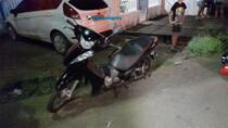 Motociclista fica gravemente ferido em acidente na zona sul